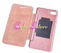 case bb - 100pcs Back Cover Flip leather Case Battery housing Case Cover For BlackBerry Z10 BB10 BB