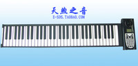 Wholesale New arrival key hand roll piano electronic piano folding soft piano belt midi interface