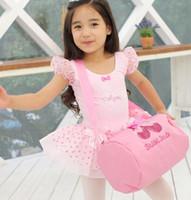 ballet shoe bag - Children Ballet Bags Baby Girls Messenger Bag Simple Design Pink Sling Bags Ballet Shoes Design BBP