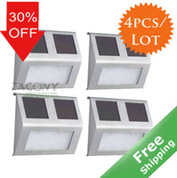 Wholesale Solar wall light Stainless steel CE Approved solar power