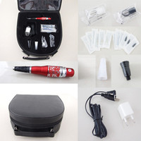 Wholesale Red Dragon Permanent Makeup Pen Machine Needle Tips Kits Eyebrow Tattooing Supply