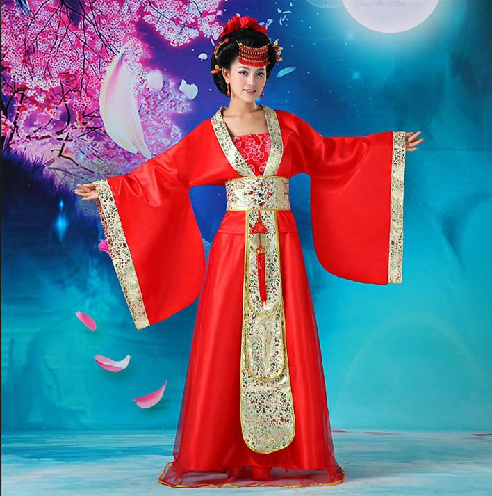 Chinese Ancient Dresses Han Dynasty Lady Dancing Dress Fairy Dress ...
