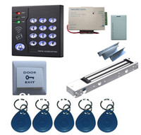 Wholesale New Arrival Complete Single Door RFID Card Access Control System Kits