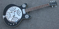 6 Strings acoustic electric resonator - NEW BRAND NATURAL ACOUSTIC ELECTRIC RESONATOR GUITAR WITH TWO HORNS