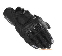 Wholesale full black Motorcycle Gloves Motorcycle Accessories leather Gloves motorbike Gloves