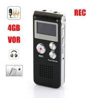 Wholesale New GB digital voice Telphone recorder VOR REC MP3 player colors