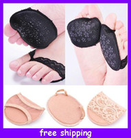 Family Insoles as the picture Thickening super-soft forefoot pad high-heeled shoes pad slip-resistant pad