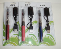 Retail high quality colorful 650- - 1100 mah E- cigarette CE4 c...