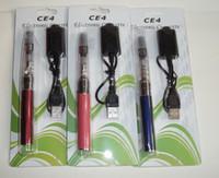 Retail high quality colorful 650- - 1100 mah E- cigarette CE4 c...