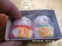 Wholesale Clay sculpture miniature clay sculpture lilliputian lucky ruyi