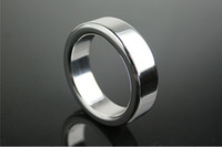 Steel   Cock Ring Stainless Steel Metal Male Chastity Ring Ball Stretcher Adult Sex Product
