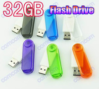Wholesale DHL swivel GB USB Flash Memory Pen Drives Sticks Disks GB Pendrives Thumbdrives BD