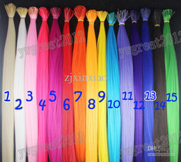 Wholesale free shippping stcik tipped synthetic rooster feather hair extension s set colors