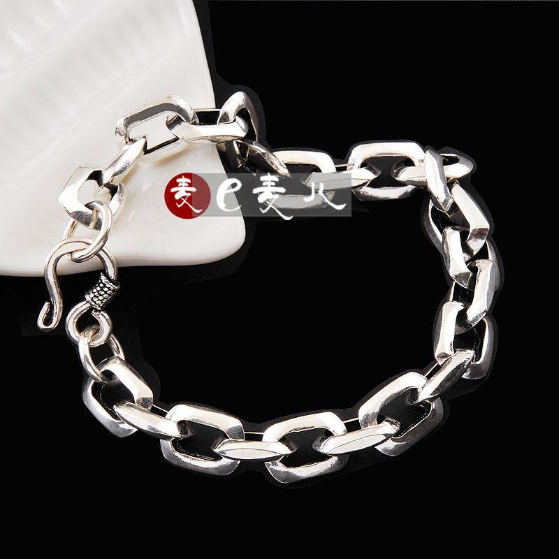 Pure Silver Bracelets For Men Men Bracelet Pure Silver