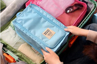 Wholesale hot selling New Travel Enfoldment Waterproof Shoe Bags Storage Box Pouch Bag
