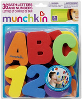 baby bath safety - Children s toys Munchkin Munchkin Bath ALPHABETS Letters amp Numbers stick on Baby bathroom safety Toy