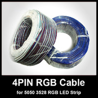 Wholesale 4 PIN Cable for RGB LED Strip m roll