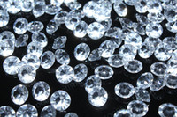 Wholesale 2000pcs TABLE DIAMOND SCATTER CRYSTALS CONFETTI GEMS MM clear