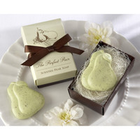 Wholesale the perfect pair scented pear soap cold process soap handmade soap wedding gift For Wedding