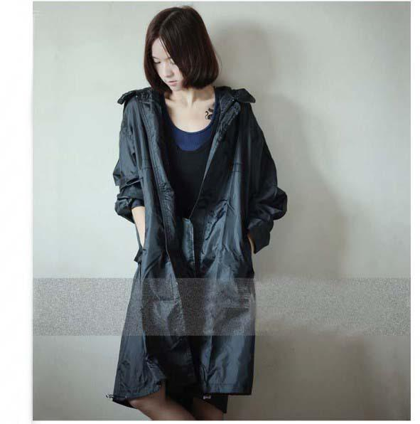 Fashion 2013 Women's Thin Paragraph Trench Adult Raincoat Wpc ...