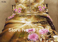 Wholesale d cotton bedding sets printed bedding set bedding linen bed sheet quilt cover