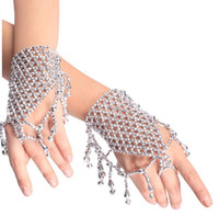 Middle Eastern Women's Gift 2013 new belly dance clothing belly dance accessories fringed bell bracelet wholesale Free Shipping