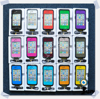 Wholesale Sample Best Waterproof Case for iphone S Colors Dirt Snow Shock Proof amp Retail Package
