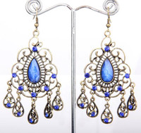 Wholesale New Cinnamon Earrings Vintage Crystal women Dangle Earring Size mm mm B115