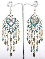 cinnamon - New Cinnamon Earrings Vintage Crystal Hoop Size mm mm B66