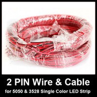 Wholesale 2 PIN Cable for Single Color LED Strip m roll