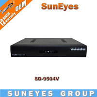 Wholesale SunEyes CCTV Standalone DVR ch H support Network and Mobile Phone View SD9054V