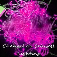 Wholesale Excellent Christmas lamp yard decoration m pink LED star light H035