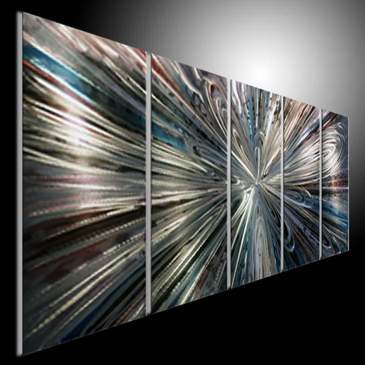 Modern Art Line Painting : Metal modern abstract art painting sculpture decor