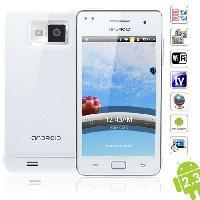 Wholesale I9100 inch Android WCDMA GSM Wifi GPS TV Dual Cards Capacitive Touch Screen G Smartphone W