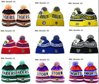 Wholesale 2013 hot sell NRL Beanies all teams mixed order snapbacks knit beanie winter skullies Mix Order