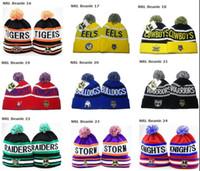 Wholesale 2013 hot sell NRL Beanies all teams mixed order snapbacks knit beanie winter skullies Mix Order