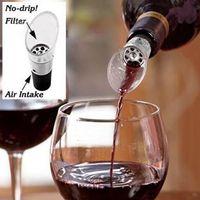 Wholesale Red wine pourer Wine Aerator Decanting Pour Spout Wine Aerating Filter Aerating Filters