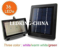 Wholesale NEW Solar power Flood light SMD Bulbs v w solar panel