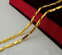 Wholesale 20 OFF Men s gold wedding necklace cheap jewelery mm necklace Fashion jewelry