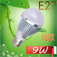 Wholesale 100XNO Dimmable Bubble BallBulb AC85 V W E14 E27 B22 GU10 High power Globe light LED Light Bulb