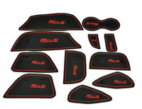 Wholesale 2012 Ford Focus High quality Silica gel Gate slot pad Teacup pad Non slip pad