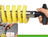Wholesale Stainless Steel Fruit Pineapple Peeler Corer Slicer Cutter Kitchen Tool Gift