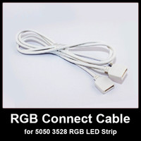 Wholesale 4 PIN Connector Connect Cable Wire for SMD RGB LED Strip