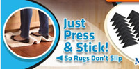 Cut Pile area rug wholesalers - 60sets non skid ruggies area rug pads Washable and reusable Set of