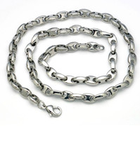 Wholesale Titanium steel necklace L men s jewelry does not fade