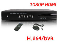 al por mayor red dvr d1-4 CH H.264 completa D1 RS485 PTZ teléfono Monitor de red de detección de movimiento 1080p HDMI cctv dvr grabadora