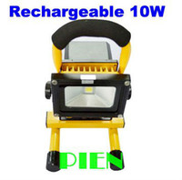Wholesale 10W Rechargeable LED FLood Light Portable Emergency kit Outdoor Work lamp IP65 Cordless High Power F