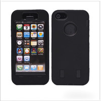 Wholesale Color Robot Silicone Hard PC efit Case back smart Cover cases shell For New iPhone5 iPhone G S