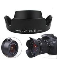 Wholesale EW C II Crown Lens Hood For Canon EOS D D D D with mm lens