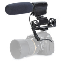 Wholesale New MIC Stereo Microphone for DSLR Camera Camcorder Canon DII D Nikon D3s E0234A